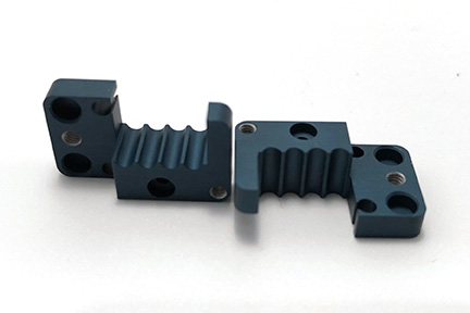 anodized aluminum part cnc milling