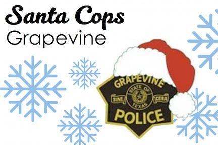 grapveine santa cops corporate giving