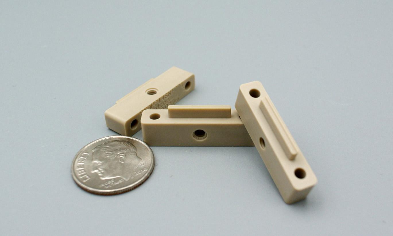 PEEK Natural part CNC Milling